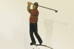 Kinetic Sculpture - Golfer $88