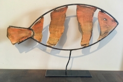 Metal Sculpture - Fish  $78