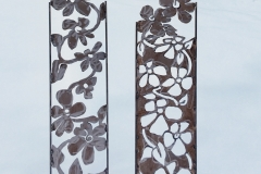 Garden Sculpture - Floral Panels  $