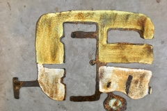 Vintage Camper - Metal Wall Art