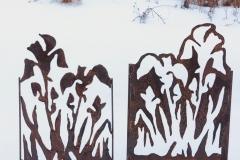 Garden Art_Irises